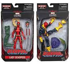 Marvel Legends Deadpool Sauron Lady Deadpool and Deadpool Action Figure IN STOCK