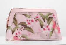 NEW! TED BAKER *Blondel Peach Blossom* Wash bag Makeup Cosmetic Case Pink Floral
