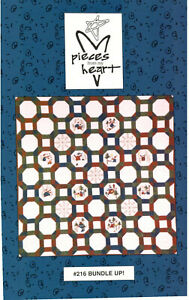 Bundle Up! Quilt Pattern Wall Hanging or Lap quilt winter Panel Moda