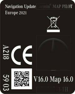 für MERCEDES NAVI SD KARTE GARMIN NTG5 Star1 *2021* EUROPA * A2189065903/ 7603