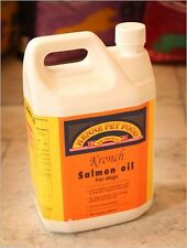 Kronch Salmon Oil Dogs Cats 2500ml 2.5L  Healthy Dogs Helps Itchy Skin