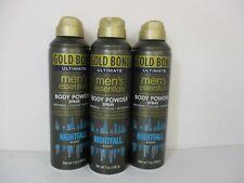3 Gold Bond Men'S Essential Nightfall Body Powder Spray 7 Oz Ea - Jl 10894