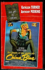 Les Jours et les Nuits de CHINA BLUE. K7 VHS. Vidéocassette Stéréo.  Neuve.