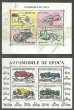 Timbres Voitures Roumanie 4354/61 o lot 23907