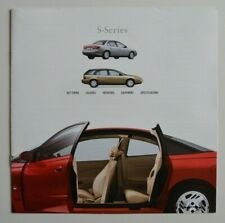 SATURN S-SERIES 2000 dealer brochure catalog - English - Canada