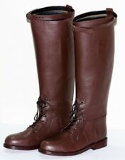 Horse Riding Boot with Front Front Ankle Laces pull on style sizes UK 5-12