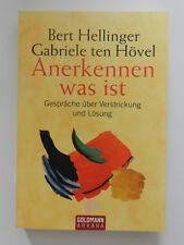 Bert Hellinger Gabriele ten Hövel Anerkennen was ist Goldmann Arkana