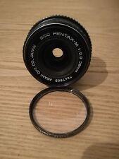 Pentax SMC 28mm. f2,8 MM  28/2,8. Compatibile con digitali.