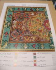 "Latch hook rug chart, discontinued stock, original Readicut design ""Shalimar"""