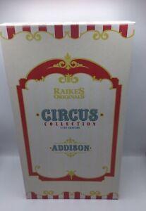 Raikes Circus: Addison Bear with Popcorn