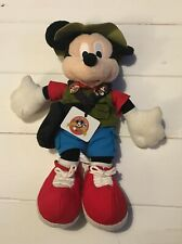 Pin Trading Mickey Mouse Plush | Walt Disney World |
