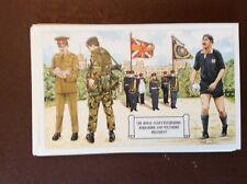 g1h postcard unused royal gloucestershire berkshire wiltshire regiment