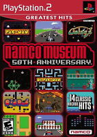 Namco Museum 50th Anniversary [PlayStation 2 PS2 Retro Arcade Compilation] NEW