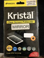 AMZER Kristal Mirror Screen Protector for Galaxy S5 SM-G-900