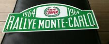 Mini Cooper European Rally Monte Carlo Rallye sign