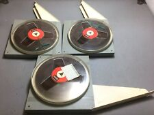 """Basf/emi  7"""" reel to reel tape 1800ft X 3 Reels With Case 1/4"""" recording tape"""