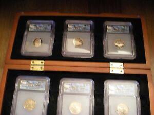 RARE Images of Change 6 coin ICG PR70 Deep Cameo Jefferson Nickel Set
