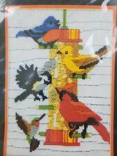 MONARCH HORIZONS TAKEALONGS BIRD FEEDER W/ CARDINAL COUNTED CROSS STITCH  KIT