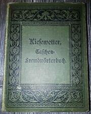 Fremdwörterbuch aus um 1900