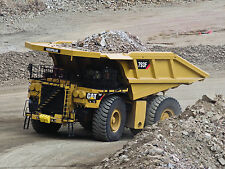 "24"" x 36"" Poster Caterpillar 793F Dumptruck Construction"
