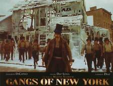 GANGS OF NEW YORK Movie Promo POSTER French C Leonardo DiCaprio Daniel Day-Lewis