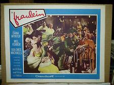 FRAULEIN, orig 1958 LC #2 (Dana Wynter, Mel Ferrer)