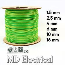 Single Core Conduit Cable 6491X Earth Yellow / Green Earthing Bonding Wire