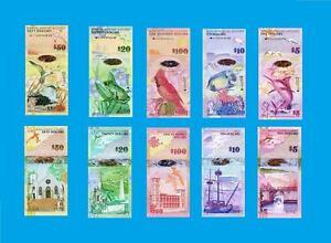 Bermuda set,lot of 5 pcs 2009. UNC - Reproductions