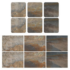 Pimpernel Earth Slate Design Placemats and Coasters Set of 6 Modern Home Design