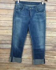 Citizens Of Humanity Cropped Straight Leg Jeans  (Size 27)