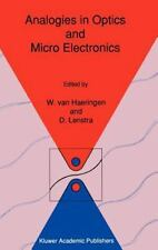 Analogies in Optics and Micro Electronics: Selected Contributions on Recent Deve