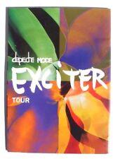 Vintage 2001 Depeche Mode Large Concert Program Exciter Tour Book
