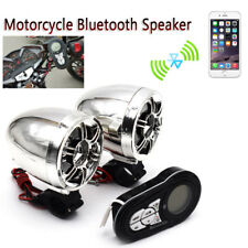 Waterproof Bluetooth Motorcycle Stereo Speakers Audio Radio Kit Fit for Yamaha