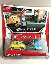 Disney Cars LUIGI & GUIDO 3/4 - 15 1:55 Mattel FREE USPS 2 DAY PRIORITY SHIPPING