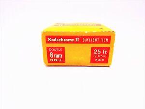 KODAK KODACHROME 25 DOUBLE 8 film Vintage Expired 1968 Double 8mm camera film