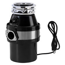1 HP Continuous Feed Household Garbage Disposer Kitchen Waste Disposal  2600 RPM