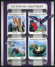 NIGER 2017  AQUATIC BIRDS SHEET MINT NH
