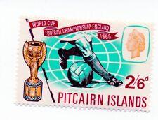 Pitcairn Island; sg 58, 2/6d, 1966 World Cup; mint lightly hinged