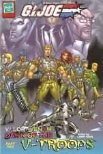 2003 GI Joe Valor vs Venom MINI COMIC #8 Dawn VTroops pt2 catalog LARRY HAMA JTC