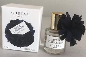 Miniature Rare Collector  Annick Goutal Nuit Et Confide Eau de Parfum 5 ml Neuve