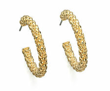 Fiorelli Gold Hoop Earrings New and Original Packaging
