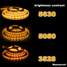 Super Bright 5M 2835 5050 5630 SMD 300 LED Flexible Strip light DC 12V white red
