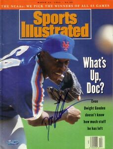 Dwight Gooden signed autographed auto NY Mets 1993 Sports Illustrated SI Steiner