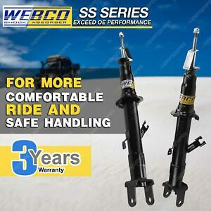 Front Strut Webco Pro Shock Absorbers for FORD TERRITORY SX SY 2WD Wagon 03-07