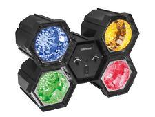 JEU DE LUMIERE CHENILLARD MODULAIRE MODULATEUR 4 SPOTS A LED 4 x 47 LEDs