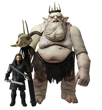 Lord of The Ring Hobbit Goblin King & Thorin Okenshield Figures