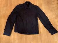 Vintage US Navy Neptune Windbreaker Deck Crewman Jacket Coat Mens Size 38 Long