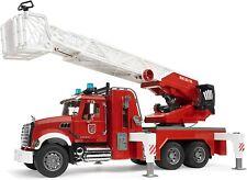 Bruder Mack Granite Fire Engine Truck w/ Working Water Pump Light  Engine 02821
