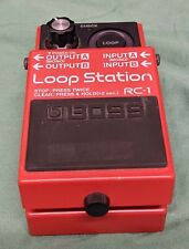 BOSS LOOP STATION RC-1 PEDAL EFFECTS GUITAR LOOPER STOMPBOX- GOOD CONDITION-USED
