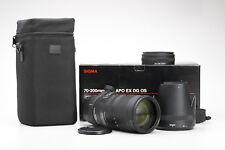Nikon Sigma 70-200 mm 2.8 DG APO OS ex if HSM + muy bien (218822)